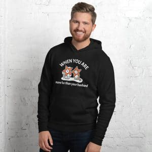 Men's When You Are More Fun Than Your Husband Hoodie
